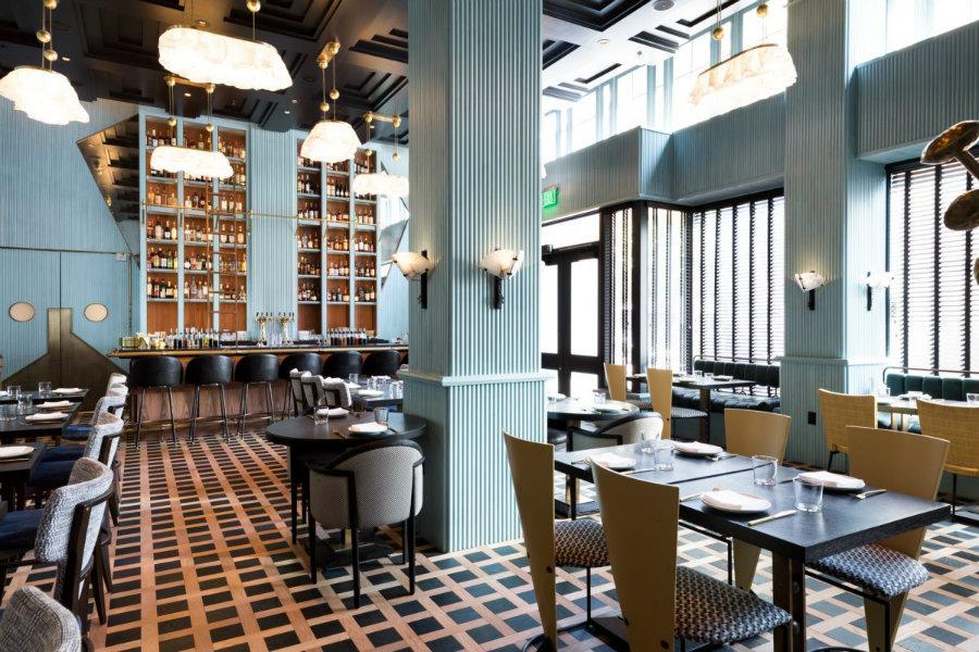 Villon restaurant by Kelly Wearstler