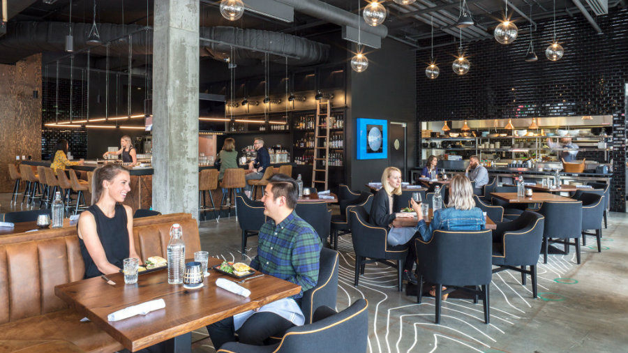 Gensler bar projects The Collective Seatle