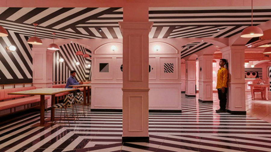 Take a look at The Pink Zebra Restaurant Decor Ideas by Wes Anderson