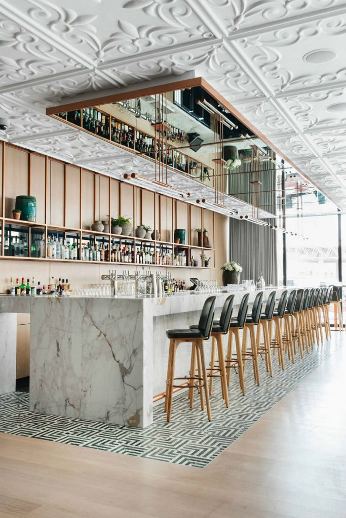 Bar decor ideas Tied House by Gensler