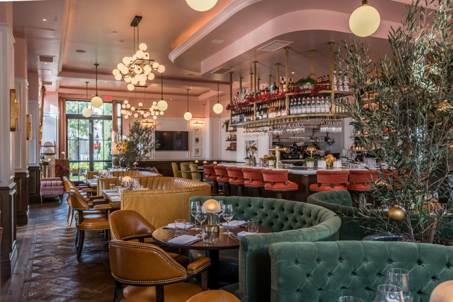 Restaurant seating furniture ideas at The Draycott