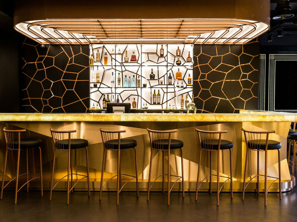 Restaurant lounge ideas – Bishop Design gives an art deco ...