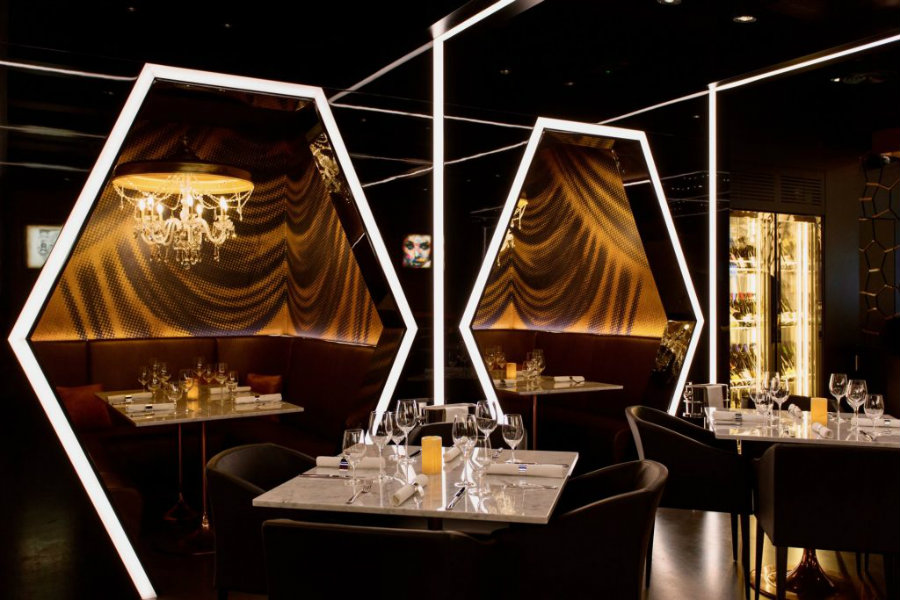 Bishop Design projects Caramel London decor restaurant