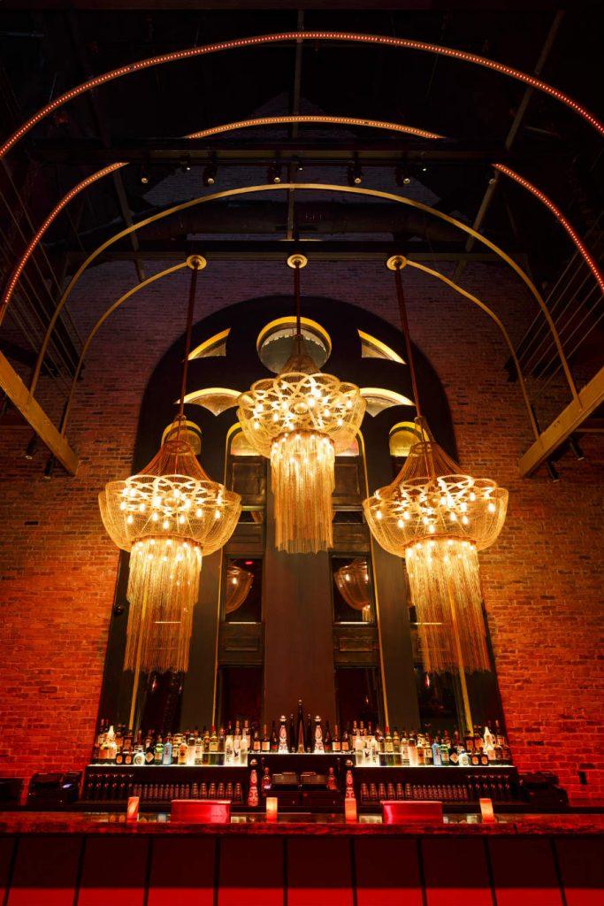 Exclusive bar decor ideas - Lighting Decor at TAO Chicago