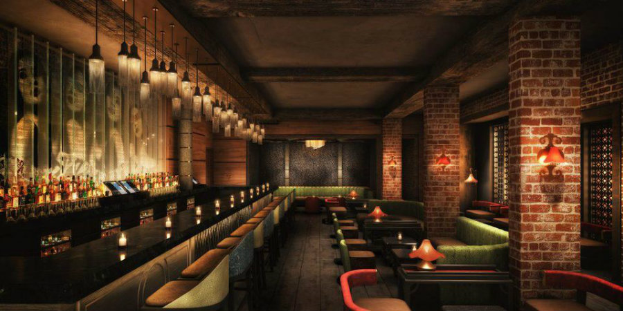 Bar decor ideas TAO Chicago by Rockwell Group