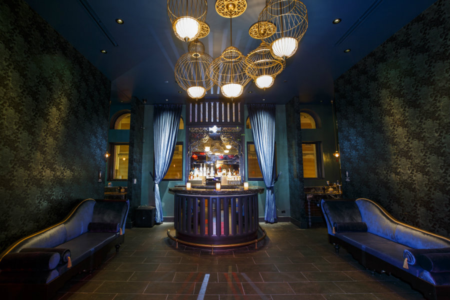 Bar decor lighting ideas