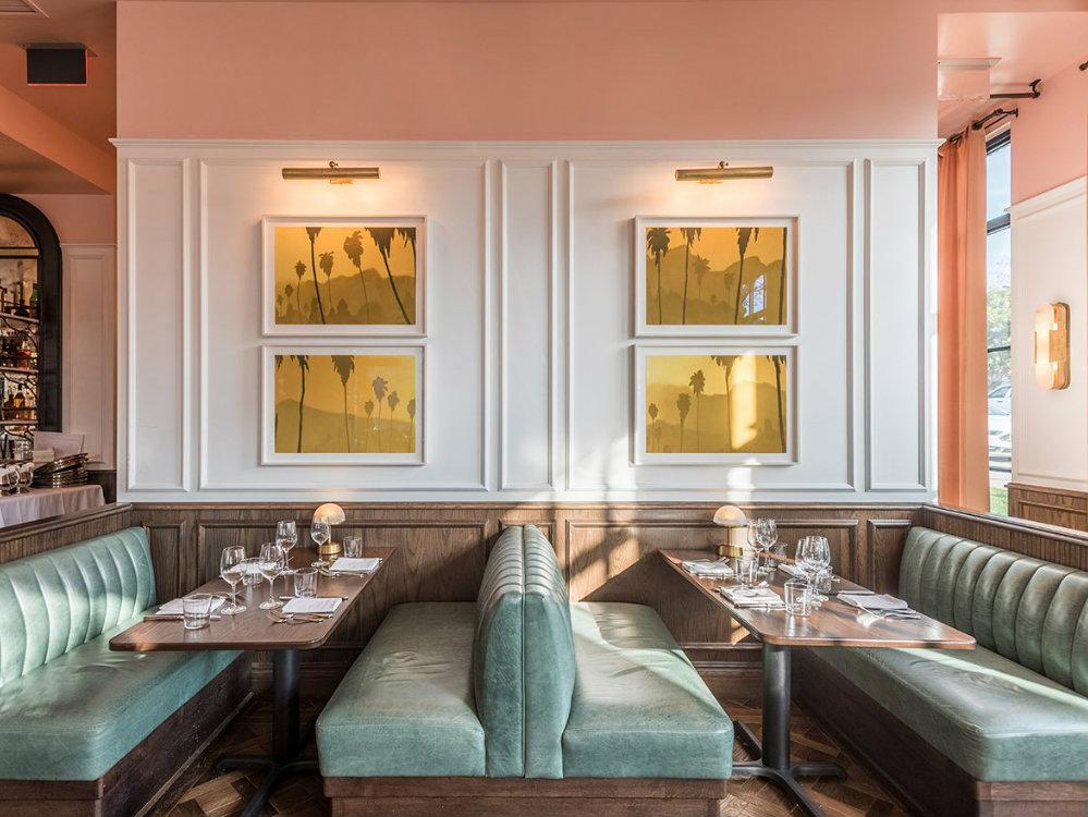 Best Los Angeles Restaurants The European Flair At Draycott Restaurant Interior Design