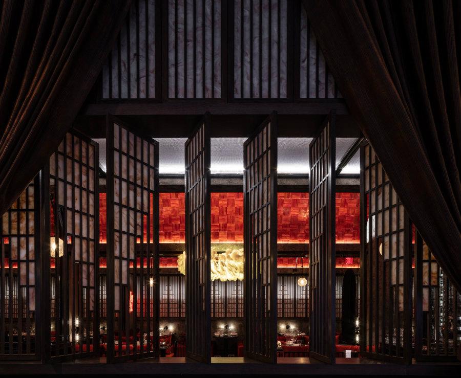 Luxury restaurant interior design by Joyce Wang