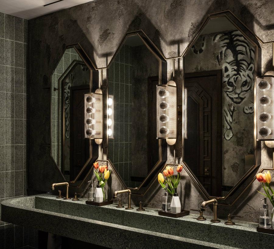 Black Marble luxury bathroom decor