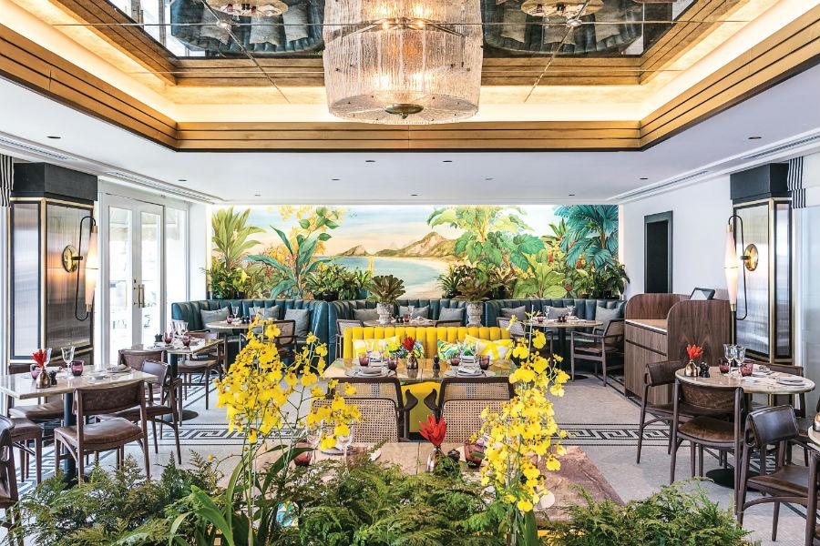 Pergula restaurant Copacabana Palace