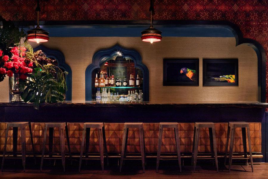 Bar decor ideas Swan & Bar Bevy