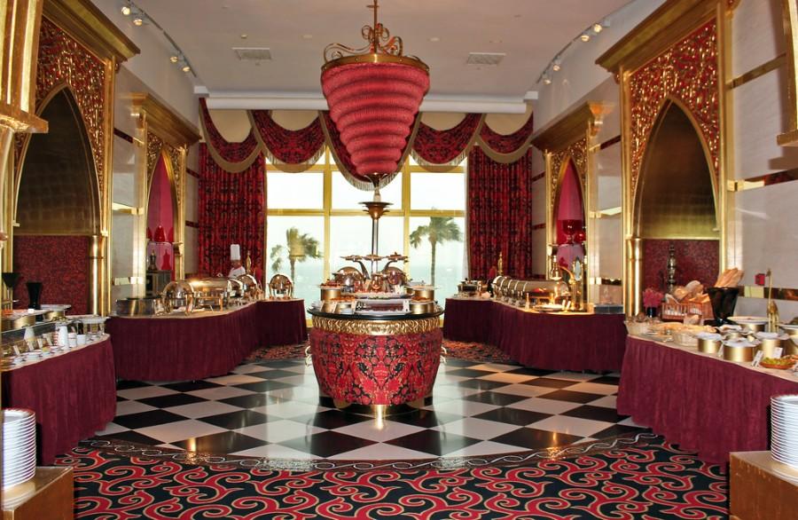 Fine dining in Dubai