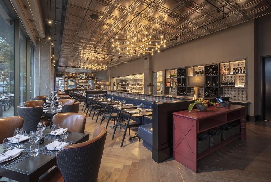 Camden Spit & Larder restaurant area