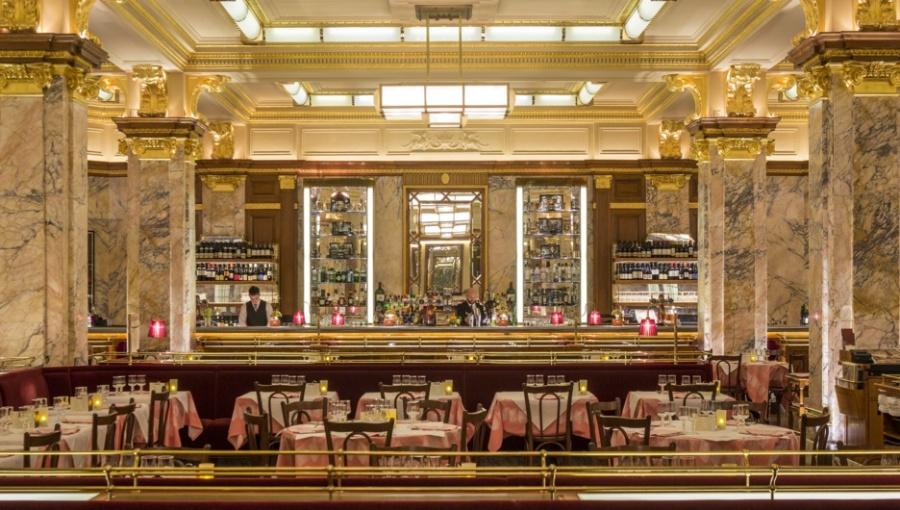 Brasserie Zédel Interior Design