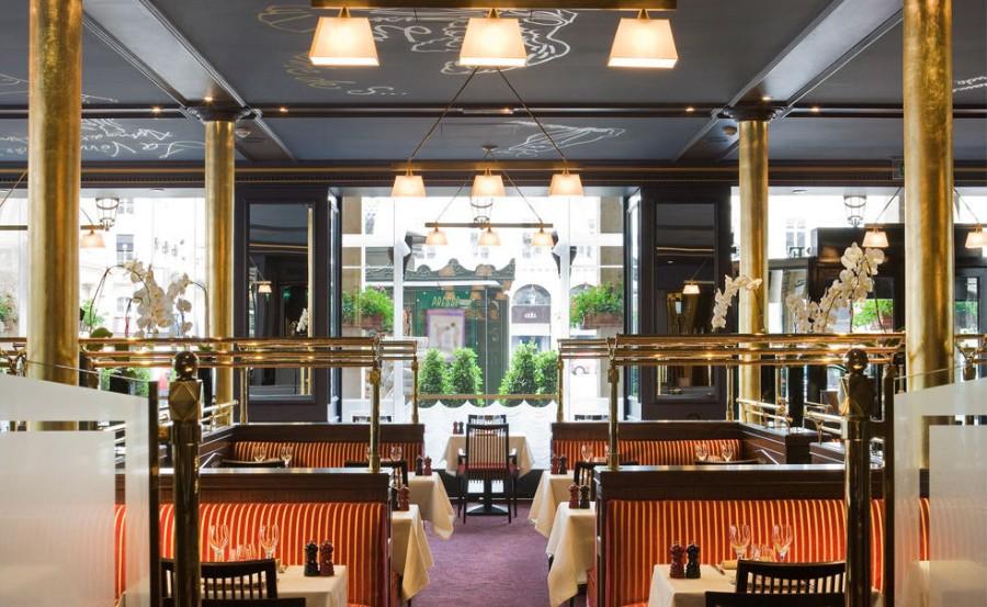 Brasserie du Louvre Restaurant Interior