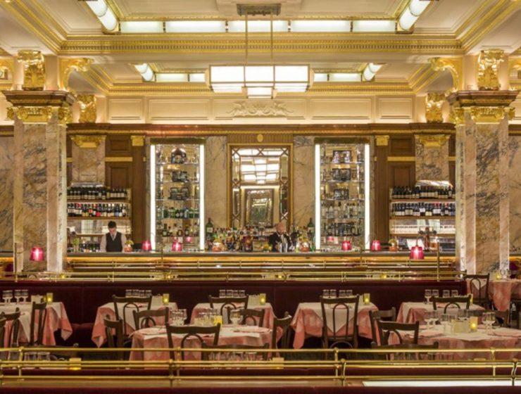 French Interior Design Restaurant